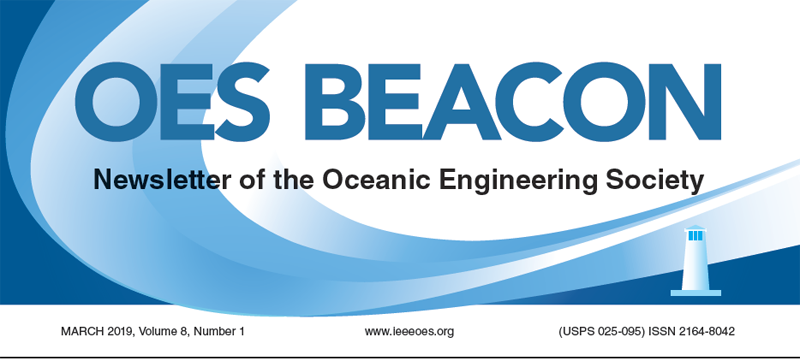 March 2019, Volume 8, Number 1 - The IEEE Oceanic Engineering Society